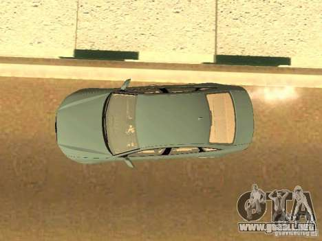 Audi A6 Stanced para vista lateral GTA San Andreas