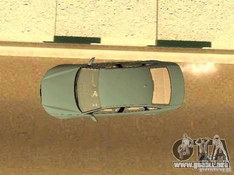 Audi A6 Stanced para vista lateral GTA San Andreas