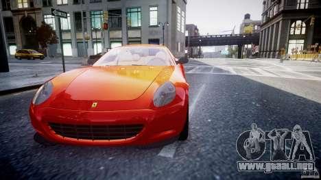 Ferrari 612 Scaglietti custom para GTA 4 vista lateral