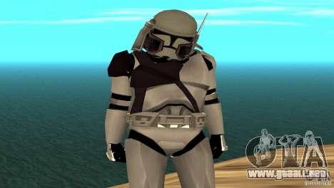 Commander Bacara para GTA San Andreas segunda pantalla
