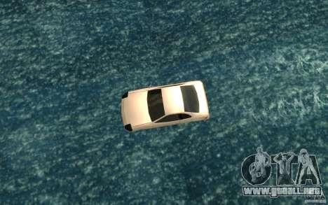 Alpha boat para la visión correcta GTA San Andreas