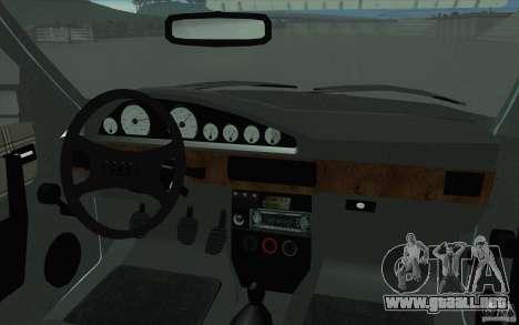 Audi 100 Avant Quattro para la vista superior GTA San Andreas