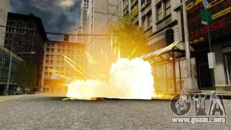 Fuego en las manos de Geralt para GTA 4 adelante de pantalla