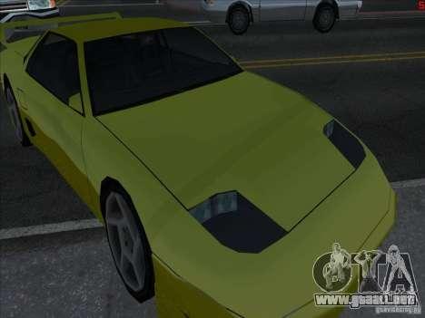 Colores más brillantes para los coches para GTA San Andreas tercera pantalla