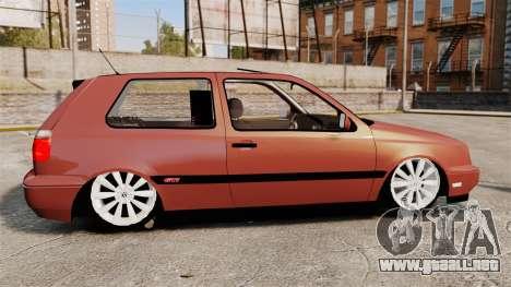 Volkswagen Golf MK3 Turbo para GTA 4 left