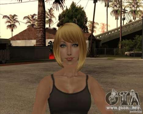 Nuevo gangrl3 para GTA San Andreas tercera pantalla