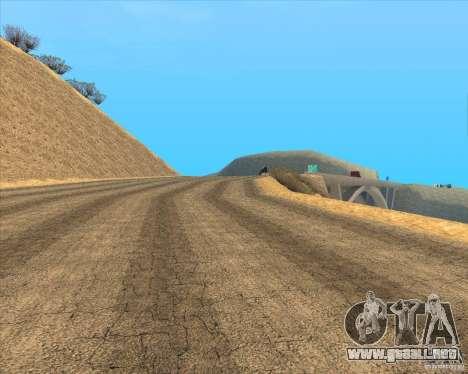 Desert HQ para GTA San Andreas sexta pantalla