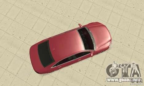 Audi A8L 4.2 FSI para la visión correcta GTA San Andreas