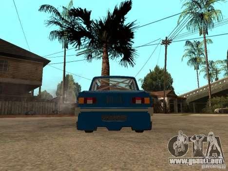 EXPERTO EN MÚSICA ZAZ 968 para GTA San Andreas vista posterior izquierda