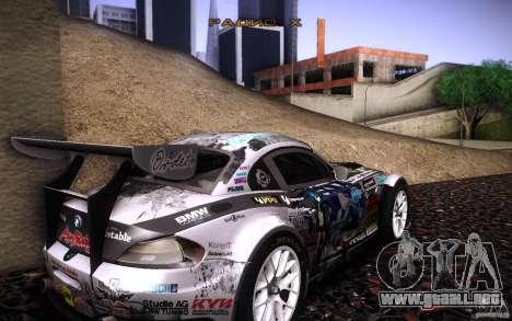 BMW Z4 E89 GT3 2010 para el motor de GTA San Andreas