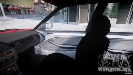 BMW 318i Light Tuning v1.1 para GTA 4 vista interior