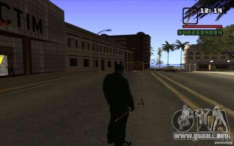 Nuevo bastón para GTA San Andreas tercera pantalla