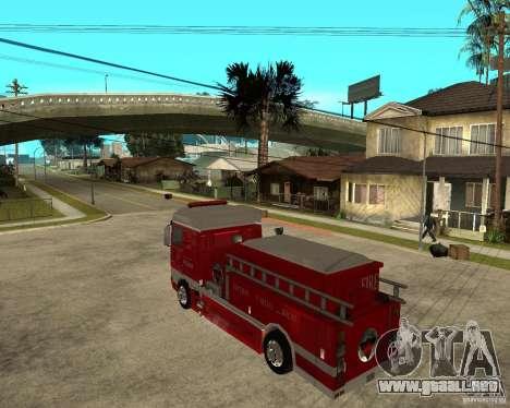 DAF XF 530 fuego para GTA San Andreas left