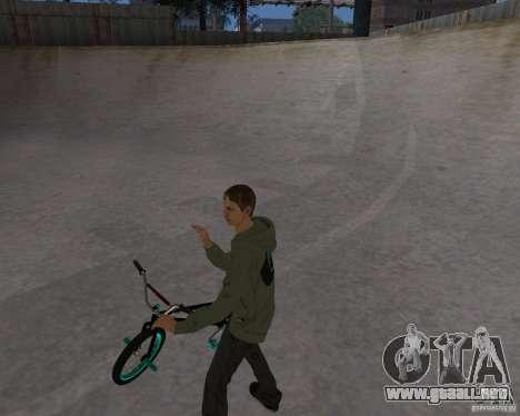 Tony Hawk para GTA San Andreas sucesivamente de pantalla