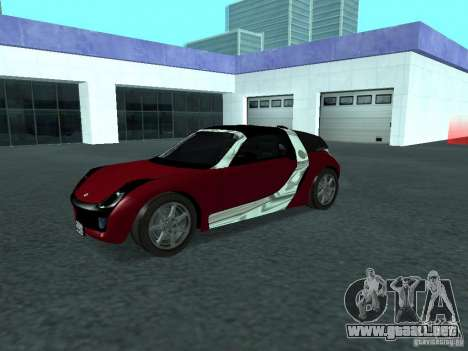 Smart Roadster Coupe para visión interna GTA San Andreas