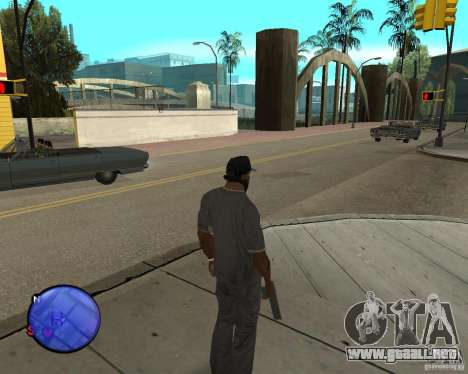 Police On Radar para GTA San Andreas tercera pantalla