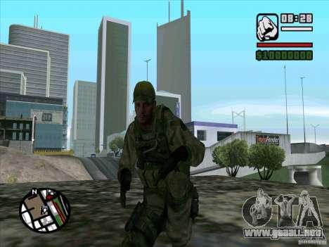 Dave de Resident Evil para GTA San Andreas tercera pantalla