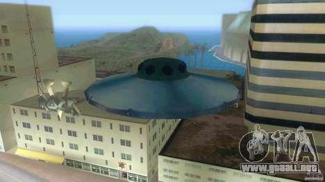Ufo Hunter para GTA Vice City vista lateral izquierdo
