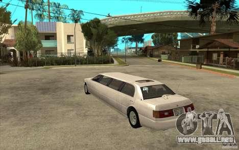 Stretch - GTA IV para GTA San Andreas vista posterior izquierda