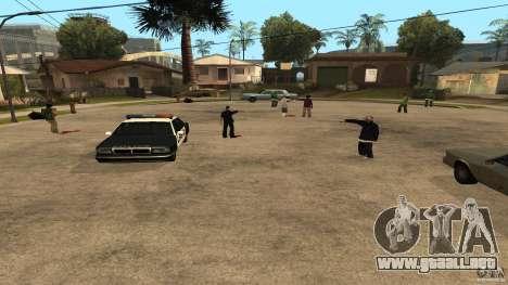 El Grove Street fue atacado por Ballas para GTA San Andreas