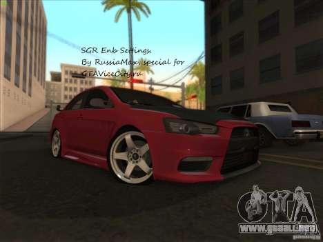 SGR ENB Settings para GTA San Andreas