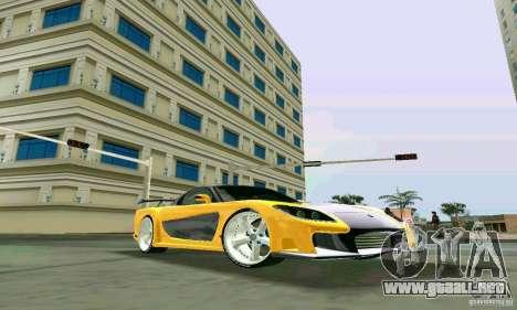 Mazda RX7 VeilSide para GTA Vice City visión correcta