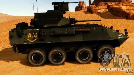 LAV-25 IFV para GTA 4 left