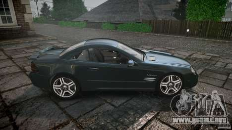 Mercedes Benz SL65 AMG V1.1 para GTA 4 vista lateral