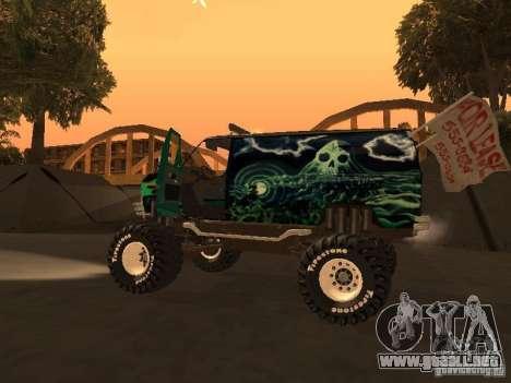 Ford Grave Digger para la visión correcta GTA San Andreas