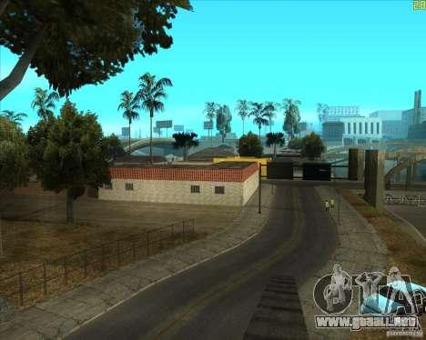 ENBSeries buena vieja para GTA San Andreas sucesivamente de pantalla