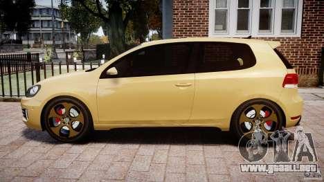 Volkswagen Golf GTI Mk6 2010 para GTA 4 left