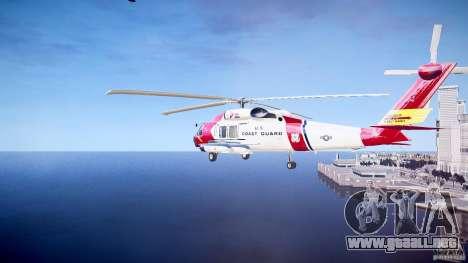 HH-60J Jayhawk para GTA 4 visión correcta