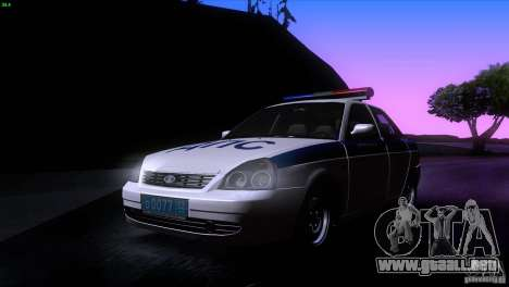LADA Priora 2170 DPS para GTA San Andreas left