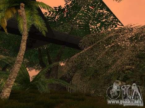 El misterio de las islas tropicales para GTA San Andreas quinta pantalla