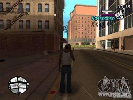 HUD by Hot Shot v.2 para GTA San Andreas segunda pantalla