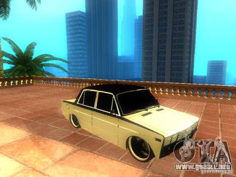 Estilo de dag 2106 Vaz para GTA San Andreas