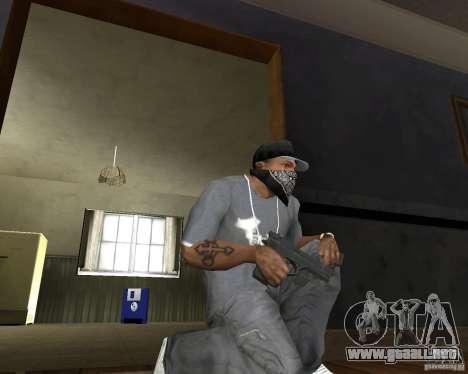 M9 para GTA San Andreas segunda pantalla