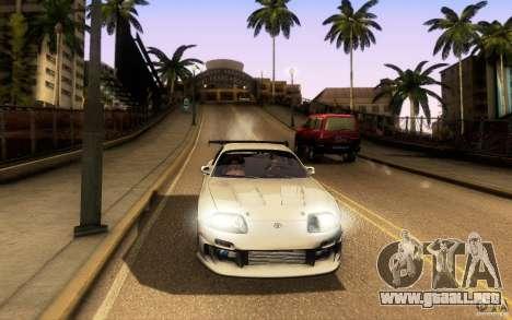 Toyota Supra Top Secret para vista inferior GTA San Andreas