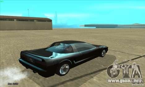 ENBSeries v4.0 HD para GTA San Andreas sucesivamente de pantalla