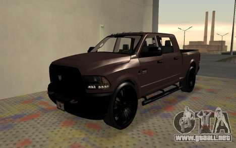 Dodge Ram 3500 para GTA San Andreas