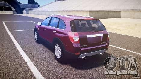 Chevrolet Captiva 2010 Final para GTA 4 visión correcta