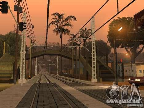 Línea ferroviaria de alta velocidad para GTA San Andreas