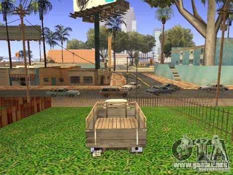 GAZ 53 para GTA San Andreas left