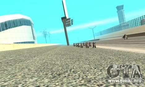 BikersInSa (los moteros en SAN ANDREAS) para GTA San Andreas tercera pantalla