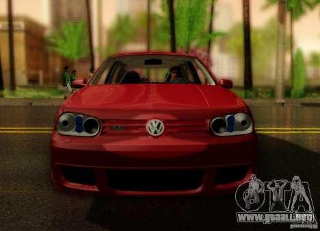 Volkswagen Golf Street para la visión correcta GTA San Andreas