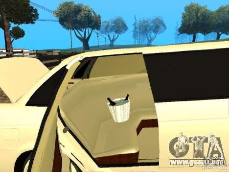 LADA Priora 2170 Limousine para GTA San Andreas vista hacia atrás