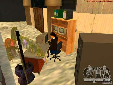 20th floor Mod V2 (Real Office) para GTA San Andreas séptima pantalla
