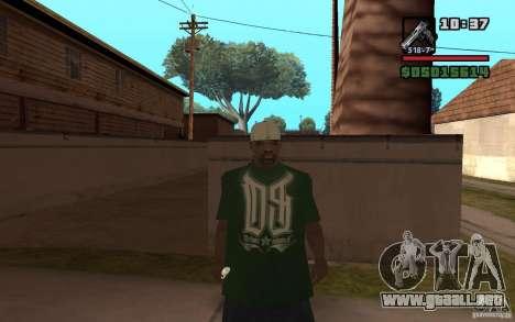 Grove Street Skin Pack para GTA San Andreas segunda pantalla