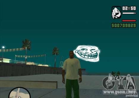 Trollface Moon para GTA San Andreas