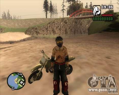 El piloto de combustible para GTA San Andreas segunda pantalla